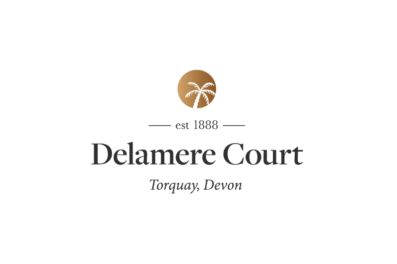 Logo re-design for Delamere Court by Flair Creatives