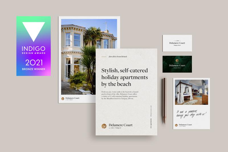 Indigo Design Award for Delamere Court re-design by Flair Creatives 2021